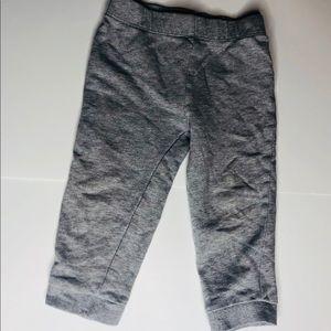 Grey 100% cotton toddler pants size 24 months